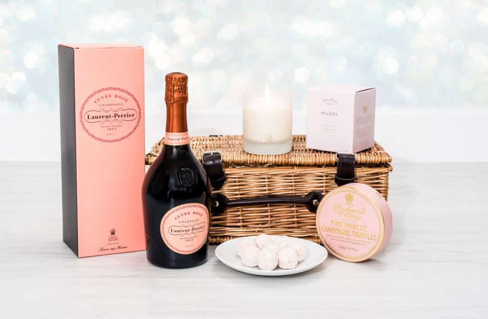 Laurent-Perrier Rosé Champagne Hamper 1