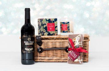 Red Wine & Chocolate Christmas Hamper 1