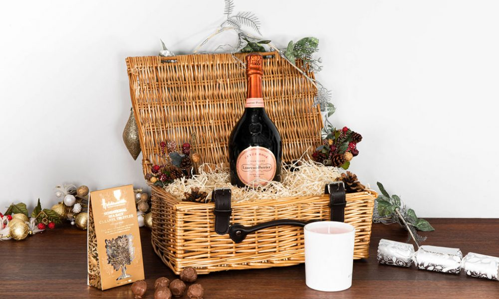 Laurent-Perrier Cuvée Rosé Champagne Christmas Hamper