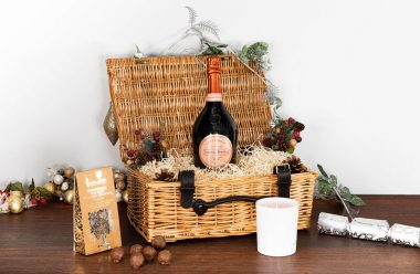 Laurent-Perrier Cuvée Rosé Champagne Christmas Hamper