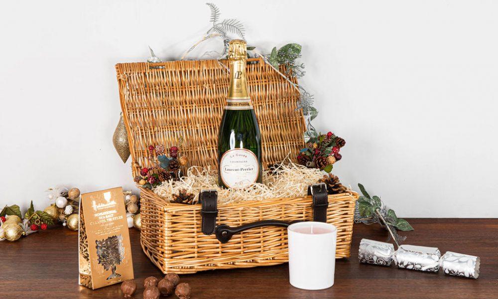 Laurent-Perrier La Cuvée Champagne Christmas Hamper
