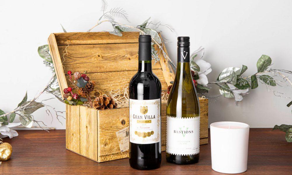 Red & White Wine Christmas Hamper