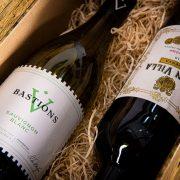 Red & White Wine Christmas Hamper 1