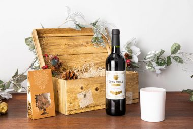 Red Wine Christmas Hamper 1